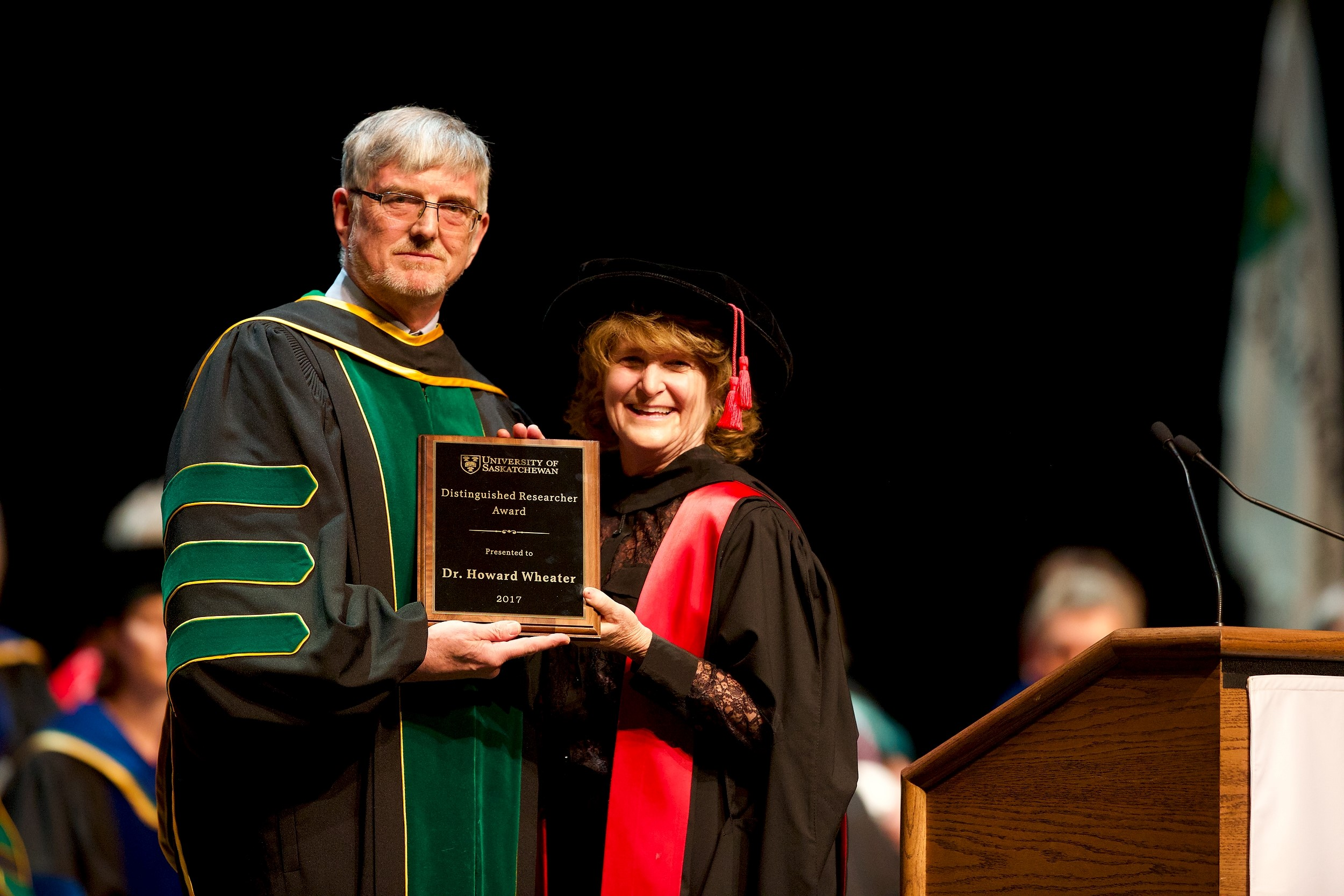Wheater receives U of S Distinguished Researcher Award