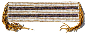 The Kaswentha, or Two Row Wampum Treaty, was originally created in the 17th century to document  an agreement between the Haudenosaunee Confederacy and Dutch Settlers